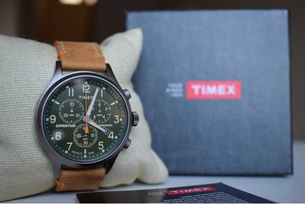 47fafa2d1 Customer picture of Timex Mens Scout Chronograph Green Dial TW4B04400  Excellent watch ...